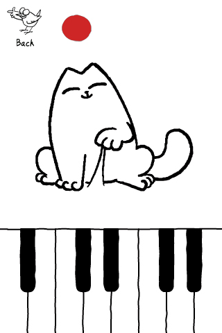 Screenshot Simon's Cat in 'Purrfect Pitch'